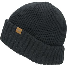 Sealskinz Waterproof Cold Weather Roll Cuff Beanie black